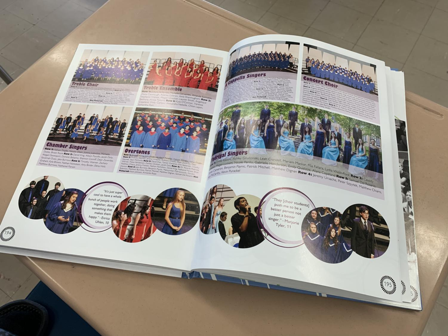 The yearbook for the 2016-2017 school year.