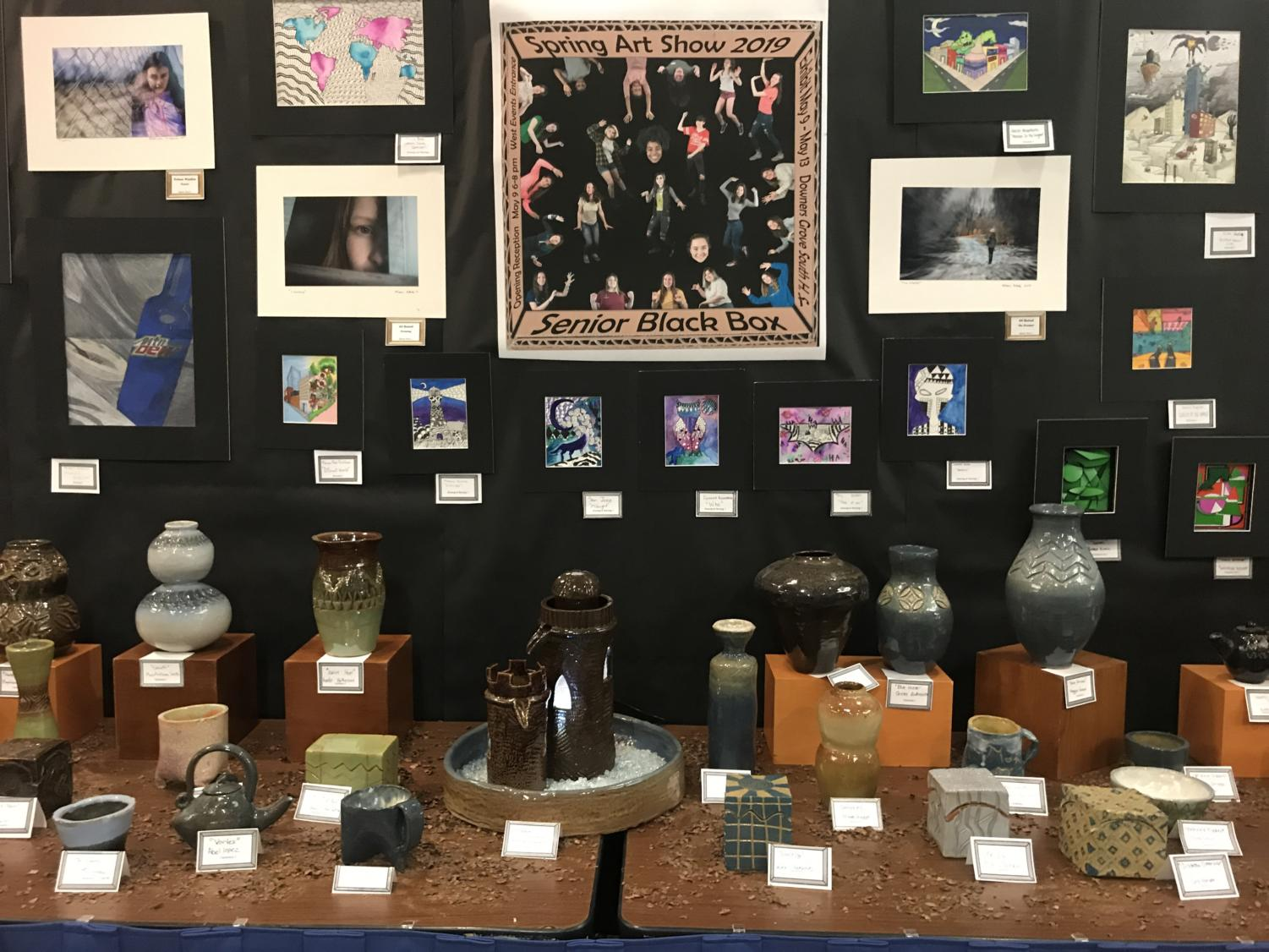 DGS Spring Art Show packed with student artwork – Blueprint