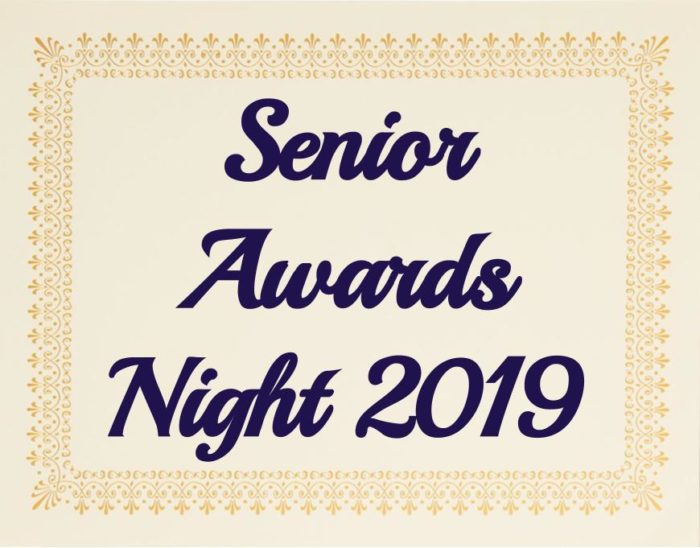 DGS' annual senior awards night was held on Tuesday May 7th.