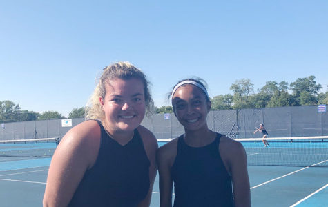 Q&A with girls varsity tennis captains: Mimi Despotovic and Jillian Urgello