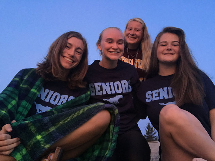 This is my first photo taken senior year at the anticlimactic senior sunrise.