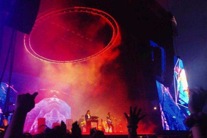 Tame Impala at Lollapalooza 2019. Their album