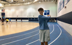 DGS junior Andrew Calek makes a swing through his high school golfing career