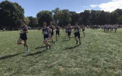 Boys cross country team runs off of positive dynamic