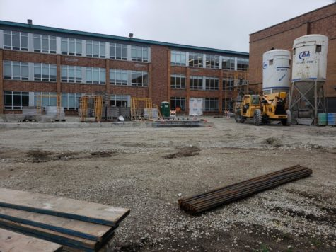 What plan is DGS drawing for the new art wing?