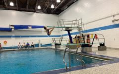 Diver Emma Fudacz jumps into her first year on the team