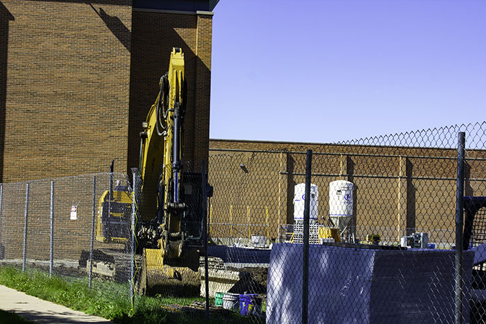 D99 is under major renovations. You can see construction occurring at both DGS and DGN.