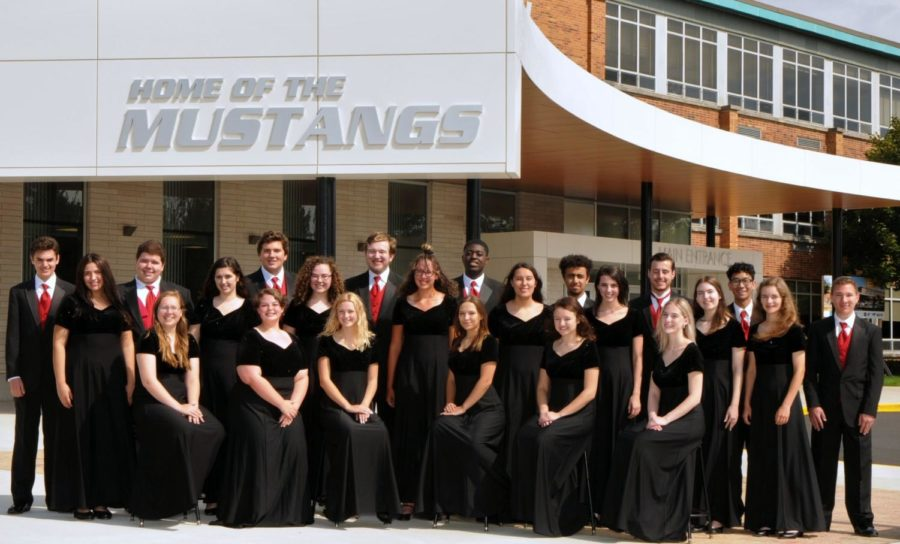 The+Madrigals+have+been+chosen+to+sing+at+All-state+this+year.+The+group+is+currently+rehearsing+their+pieces.+