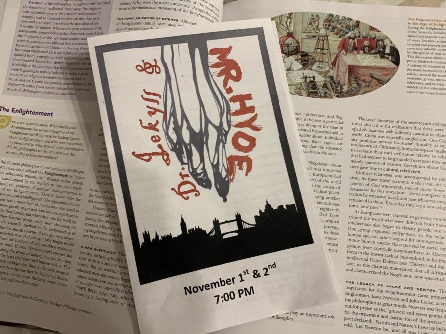 The annual fall play premiered on the night of Nov. 7.