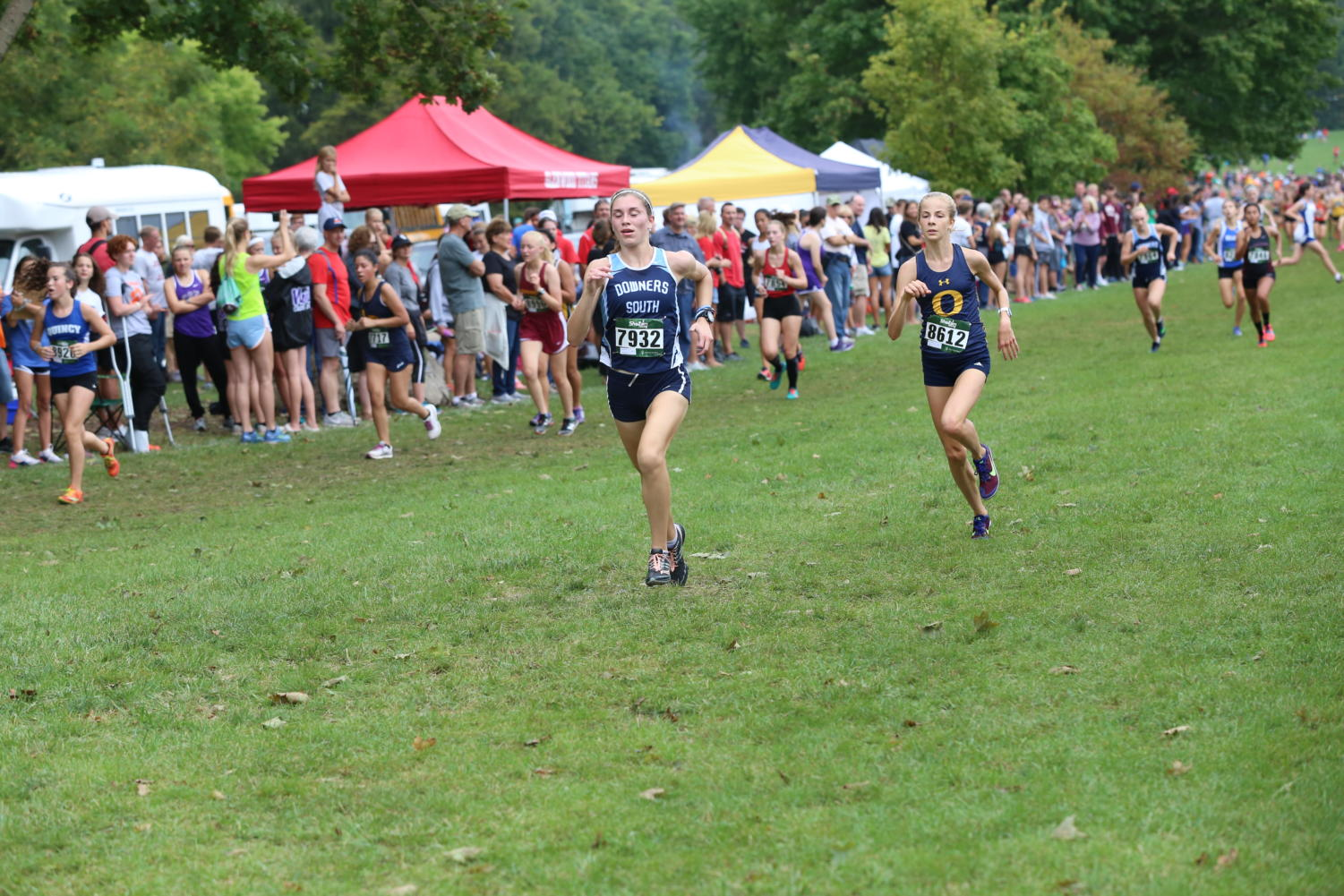 Brenna Cohoon finishes just missing a personal best at Detweiller.