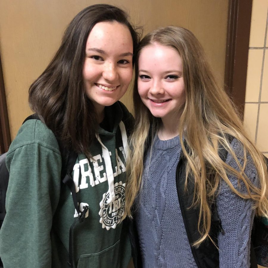 Friendship Friday: Tara Pikey and Rileigh Weber