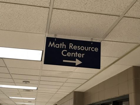 The Math Resource Center is found on the third floor in the D-Hallway.