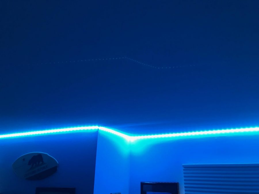 LED+light+strips%2C+one+of+the+trendiest+gifts+of+the+holiday+season%2C+now+hang+in+my+room.+