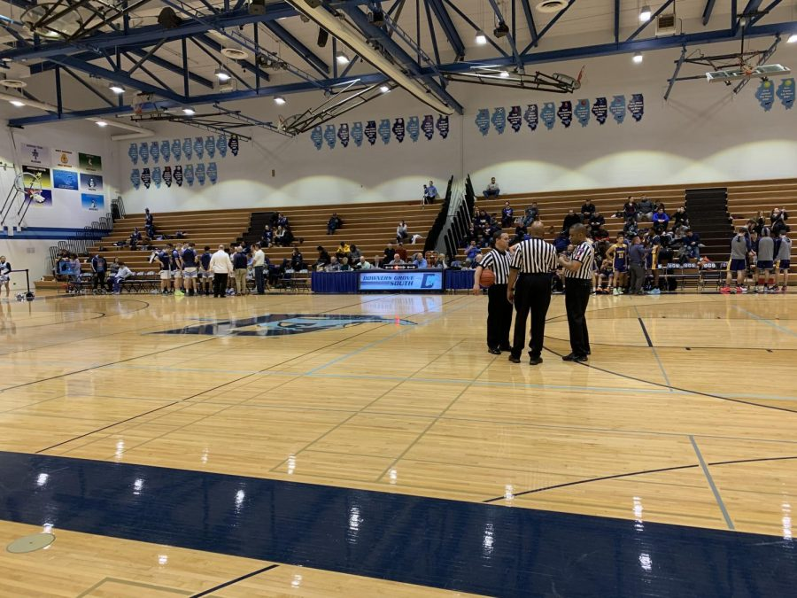 DGS boys varsity basketball will have their next home game on Thursday, Jan. 23, against Crane Medical Prep High School.
