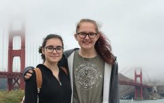 The two friends on a trip to San Francisco during the summer of 2018.