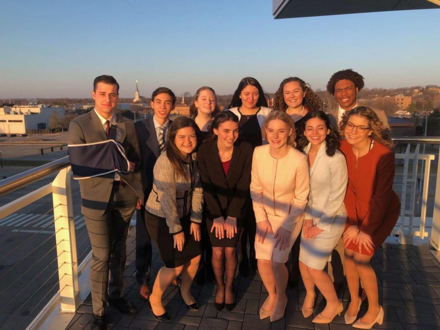 The+DGS+speech+team+celebrates+their+third+victory+in+four+years.