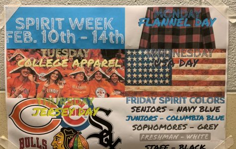 Some of the fun themes for the upcoming Spirit Week.