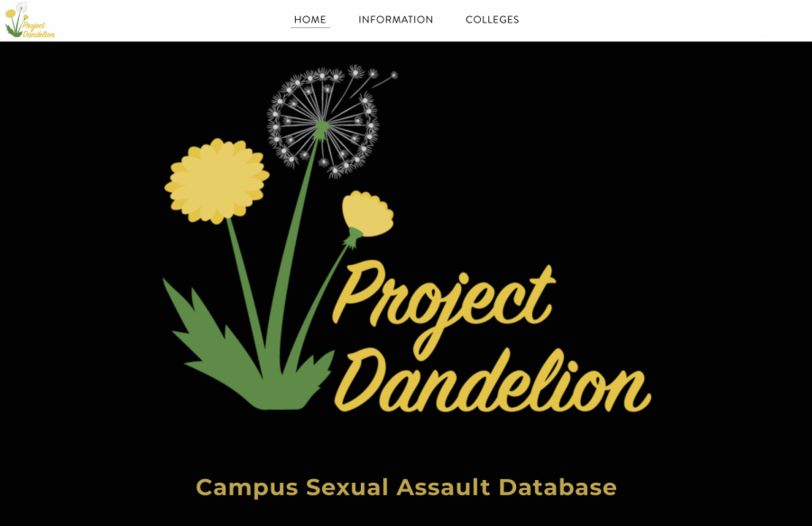 A+screenshot+of+the+Project+Dandelion+database%2C+which+currently+operates+under+a+weebly+website.+