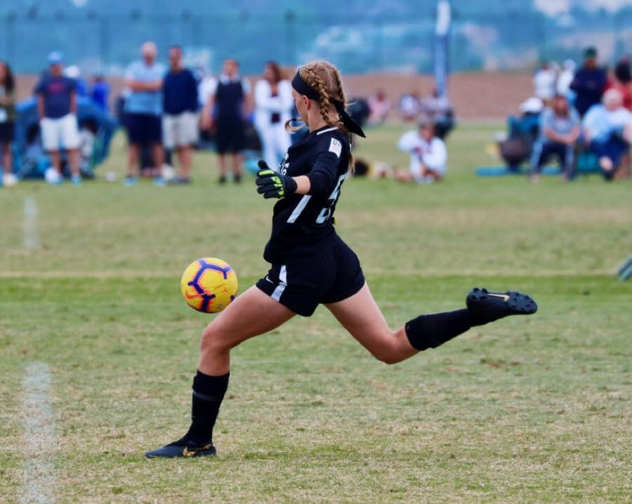 Dumford strikes spot on division I college team; Dedication makes her highly respected DGS player