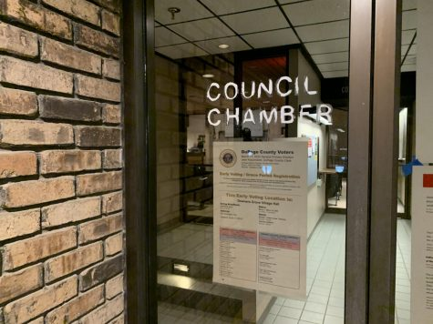 The Downers Grove Village Council convenes for its March 3, 2020, meeting.