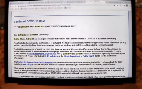 District 99 confirms first COVID-19 case within school community