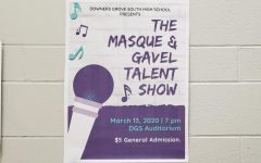 A preview of the upcoming Masque and Gavel Talent Show