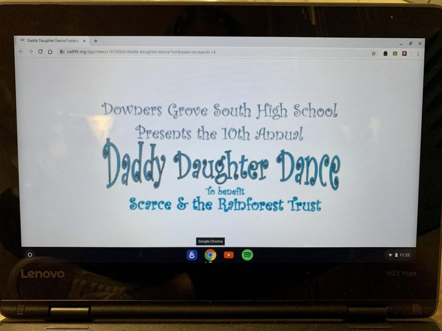 The Daddy Daughter Dance is themed after the movie 'Frozen 2.'