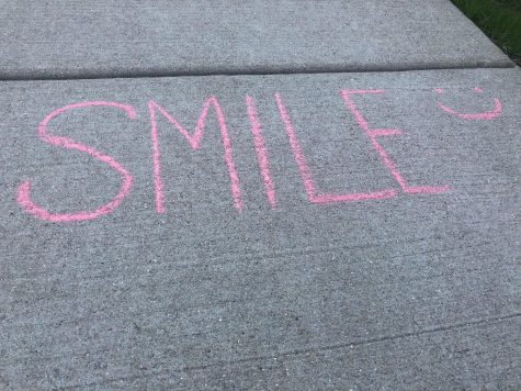 Remember to share your wonderful smile whenever you see someone outside during these difficult times.