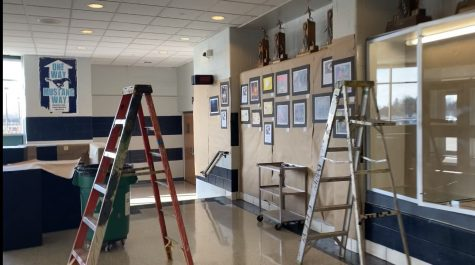 A look back at the Winter Art Show, where all AP art student's work is highlighted.