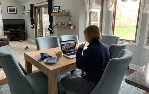 With COVID-19 causing face-to-face learning to be cancelled for the rest of the year, many teachers now communicate with their students via video chats.