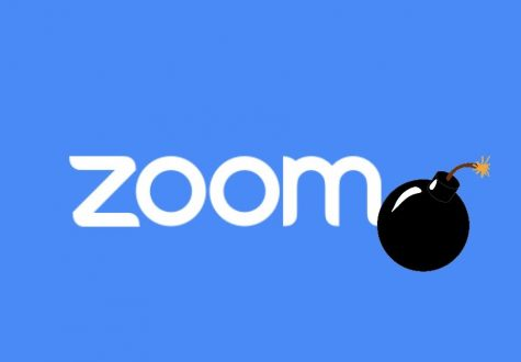 The term Zoom bombing refers to the act of joining another school