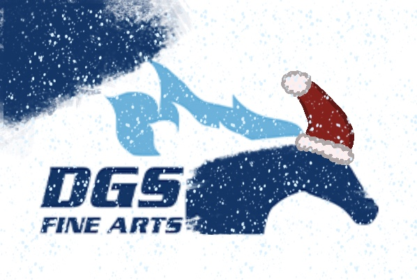 DGS Fine Arts is celebrating the holidays online this year.