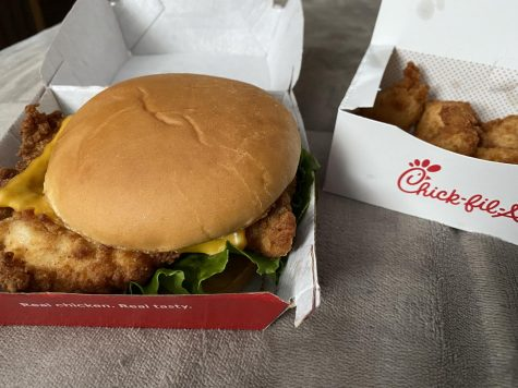 A Chick-Fil-A deluxe meal is all you need to be happy in life
