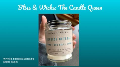 This documentary is about a local candle maker. Her shop opens soon.