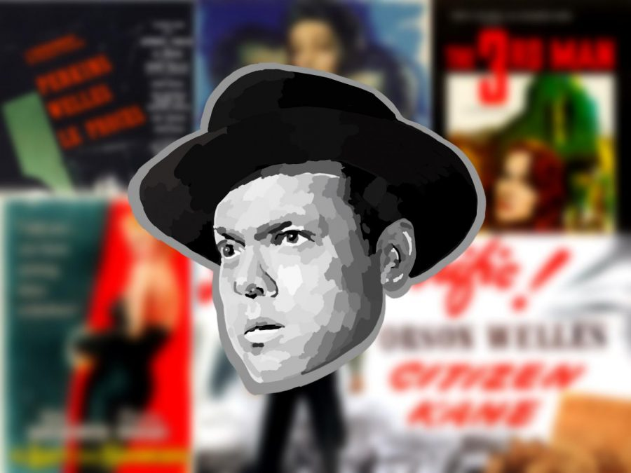 Orson Welles is a well-known director and actor in old-Hollywood.