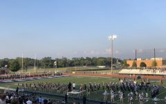 Everyone in the audience and on the field fell silent as they remembered both Joey Marino and Evan Melau