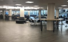 Before class begins at DGS, our commons are quiet and comfy.