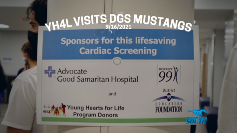 Young Hearts For Life visits the DGS Mustangs during their gym periods for a free cardiac screening event.