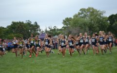 Seconds after the gun fires, the Mustangs charge to the front dominating the field at the Fenton Invitational.