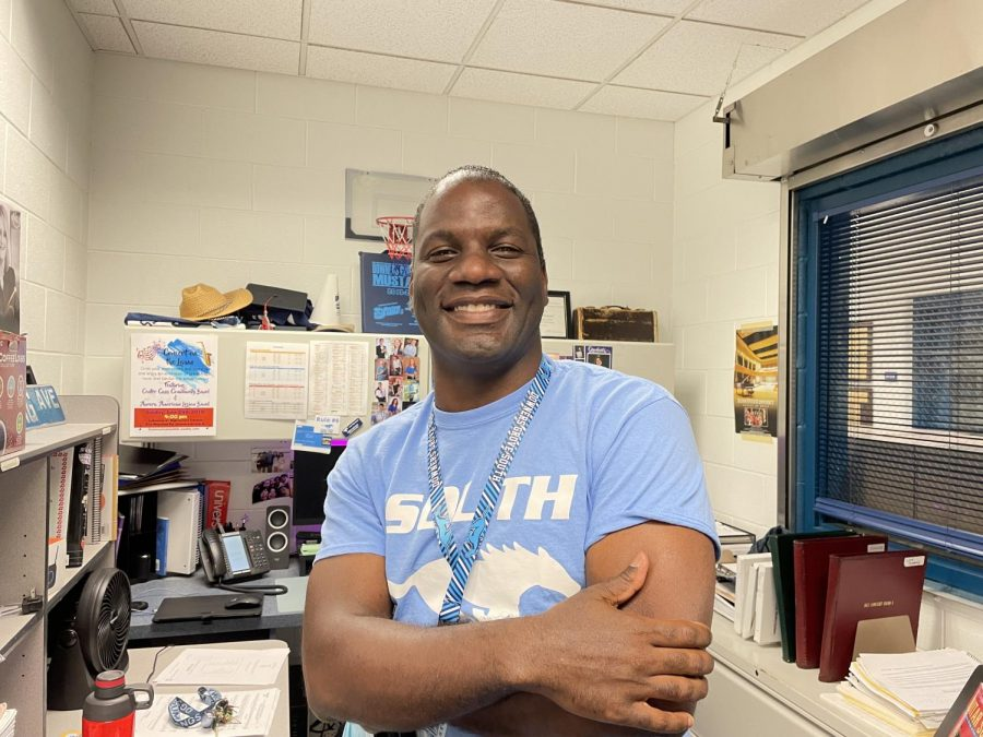 Jerry Lowrey is Souths brand new fine arts department chair.