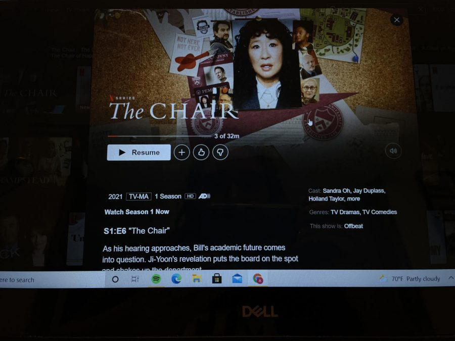Netflix campus drama, The Chair is out now on the popular streaming service.