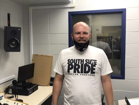 DGS English teacher Zach Kuhn will be taking over the sports announcing role along with helping out with the music and sound at football and basketball games.