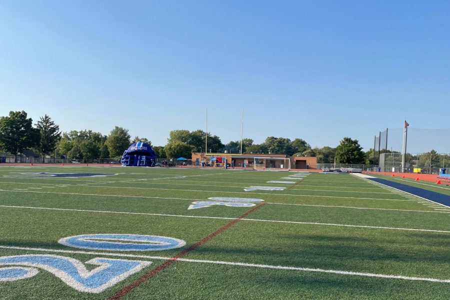 The+DGS+football+field+where+the+2021+homecoming+dance+will+take+place.