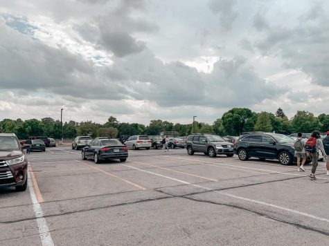 Students pass a ton of open parking spaces in the staff lot, trekking what feels like a mile to their cars in the senior lot.