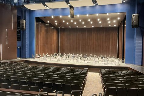 The new DGS auditorium is open to all on Oct. 28 for the fall concert.