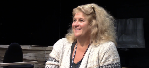 Choir teacher Joy Belt talked about the joys that singing brought her through the years.