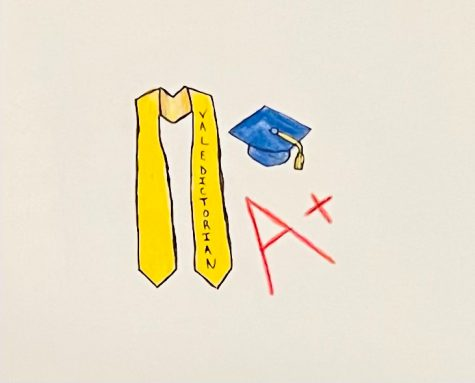 As an academically-motivated perfectionist, I'm here to tell you that pressure and competitiveness is part of being a student, and having a valedictorian isn't extra stress - it's a reward.