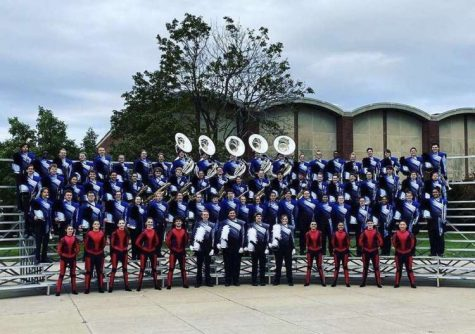 """The Marching Mustangs have spent over three months perfecting their show, entitled """"The Arena""""."""