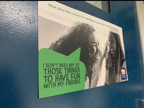 Students shared why they chose to stay away from substances on a anonymous form.